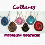 Collares Medallon Soutache ! Al Mayor Y Al Detal !