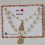 Cadenas De Perlitas Con Dije Virgen Del Valle Antoaccesorios