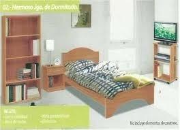 Juego De Dormitorio Individual Utech Usado