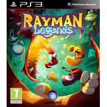 Juegos Ps3 Rayman Legends Para Ps3 Nuevo Original Sellado!