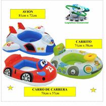 Flotador Inflable Niños (orificios) 59586 Intex Carga 11 Kg