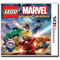 Marvel Lego Nintendo 3ds Super Heroes Nuevo Y Sellado!