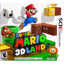 Juego Super Mario 3d Land Nintendo 3ds Original Nuevo