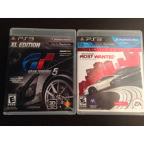 Need For Speed Y Gran Turismo 5