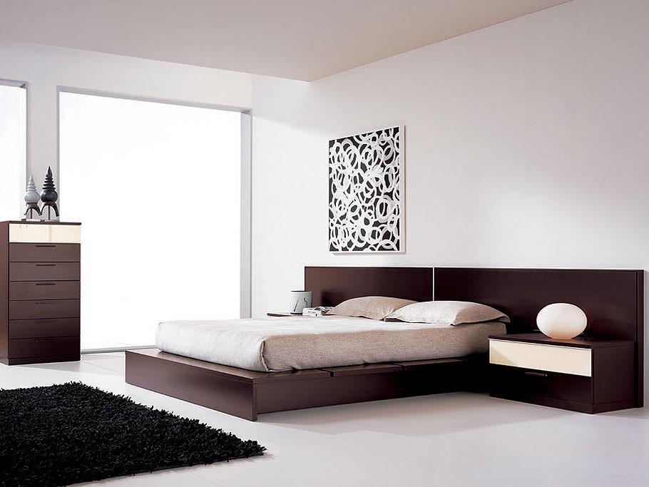 Alcoba matrimonial moderna for Modelos de dormitorios modernos matrimoniales