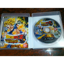 Juego De Ps3 Dragon Ball Z Ultimate Tenkaichi