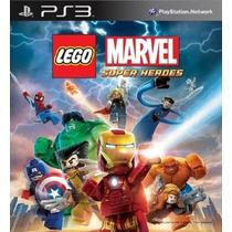 Lego Marvel Super Heroes Juego Ps3l!! Envio Inmediato