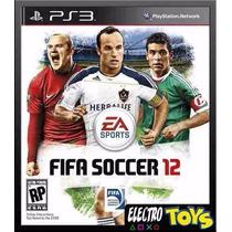 Fifa Soccer 12 Ps3 Usado