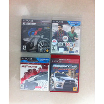 Juegos De Ps3 Fifa14 Nfs Most Wanted Gt5 Midnight Club La