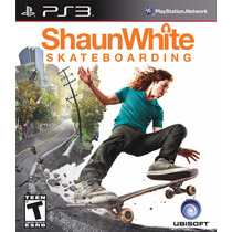 Ps3 Shaun White Skateboarding Para Playstation 3.