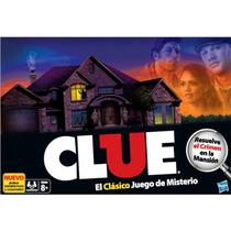 Juego De Mesa Clue De Hasbro