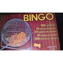 Bingo Profesional Excelente Juego Familiar