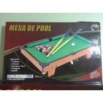 Mesa De Pool Pequeña/mediana Y Grande De Jeidy Toys