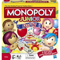 Monopolio Junior Fiesta Hasbro Juego De Mesa