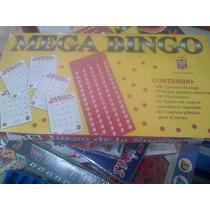Juego De Mesa, Mega Bingo