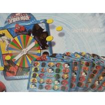 Bingo Infantil De Spiderman Para Niños Marvel