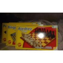 Juego De Ludo - Bingo - Ajedrez Clasico