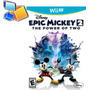 Juego Disney Epic Mickey 2 Wii U The Power Of Two Sellado