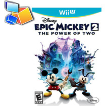 Juego Disney Epic Mickey 2 Wii U The Power Of Two Sellado