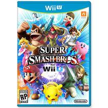 Super Smash Bros. Wiiu Nuevo Original Sellado