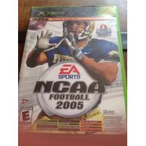 Xbox Ncaa Football 2005 / Top Spin Juego Ea Sport