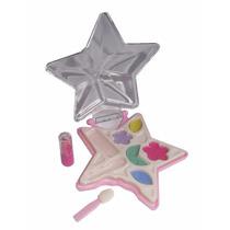Maquillaje Polvo Compacto Juguete Niña 3 Pzas Beauty Set