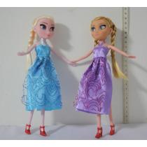 Muñecas Tipo Barbie Frozen Elsa Y Anna A Precio De Fabrica