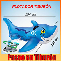Flotador Inflable Tiburon Para Niños 56567 Intex Piscina