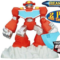 Mini Transformer Rescue Bots Heatwave