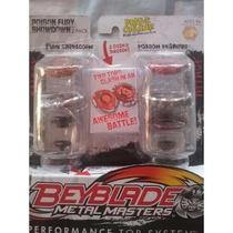 Trompo Beyblade Metal Master 2 Pack Original De Hasbro.