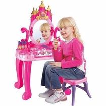Peinadora Con Piano Tocador Princesa Mas Acsesorios