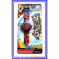 Reloj Proyectores Avengers
