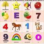 Lotto Chamo Lotería Didáctica (12 Cartones - 48 Fichas)