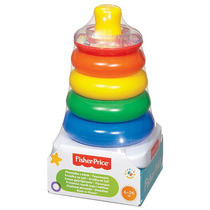 Fisher Price Aros Aritos Brillan Rock A Stack 100% Original