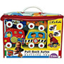 Ks Kids Kit Estuche De 4 Carros Suaves Estimula Al Gateo