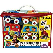 Ks Kids Kit Estuche De 4 Carros Suaves Estimula Al Gateo