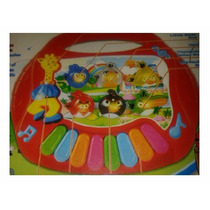 Piano Musical Multi Funciones Happy Birds Para Bebes