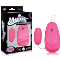 Super Bala Vibradora Para Clitoris Con Control M-mello