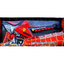 Guitarra Electrica Para Niños Spiderman Juguete Hombre Araña
