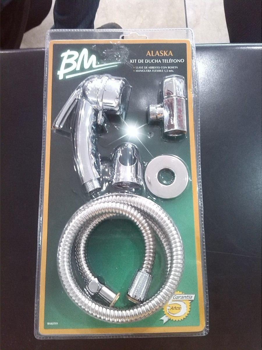 Baños Con Ducha Telefono:Kit De Ducha Telefono Bm Con Llave De Arresto Modelo Alaska – Bs 8