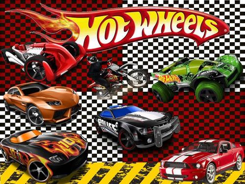 Tarjetas De Fiesta De Hot Wheels Imagui
