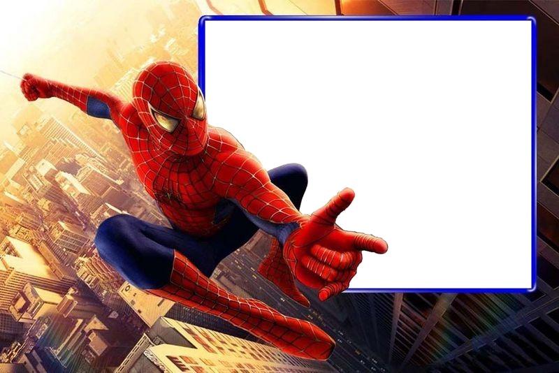Invitación De Cumpleaños Spiderman Imagui