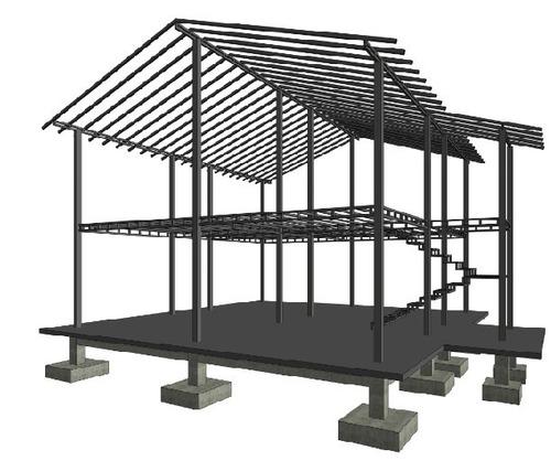 Kits estructurales con planos para viviendas de 1 y 2 - Estructura metalicas para casas ...