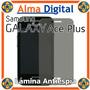 Lamina Protector Pantalla Antiespia Samsung S7500 Ace Plus