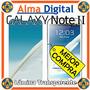 Lamina Protector Pantalla Transparente Samsung Note 2 7100