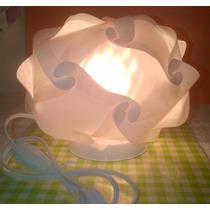 Lampara Id Lights Mesa De Noche Modelo Rosette
