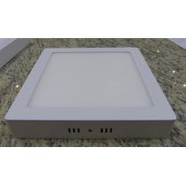 Plafon Cuadrado / Lampara Techo Superficial Led 12w 17cm