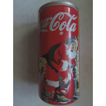 Lata De Coca De Metal (no Aluminio) Navidad Del 96 Buen Esta