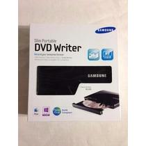 Quemadora Cd/dvd Externa Samsung Se-208ab Slim Portatil Usb