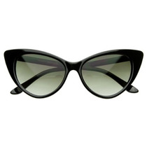 Lentes Super Cateyes Vintage Inspired Fashion Mod Chic High